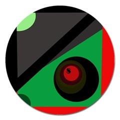 Billiard  Magnet 5  (Round)