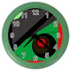 Billiard  Color Wall Clocks