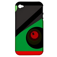 Billiard  Apple iPhone 4/4S Hardshell Case (PC+Silicone)