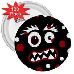 Madness  3  Buttons (100 pack)