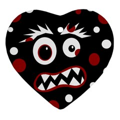 Madness  Heart Ornament (2 Sides)