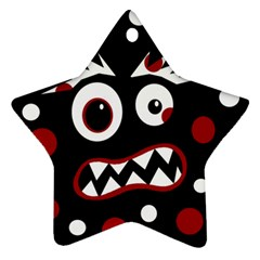 Madness  Star Ornament (Two Sides)