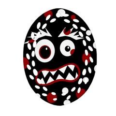 Madness  Ornament (Oval Filigree)