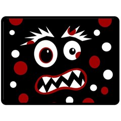 Madness  Double Sided Fleece Blanket (Large)