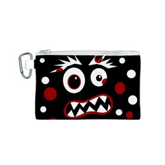 Madness  Canvas Cosmetic Bag (S)