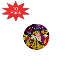 New Year 1  Mini Magnet (10 pack)