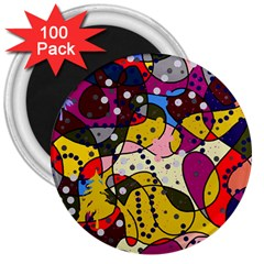New Year 3  Magnets (100 pack)