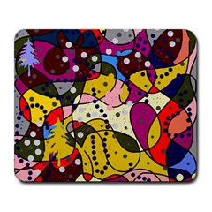 New Year Large Mousepads