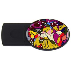 New Year USB Flash Drive Oval (2 GB)