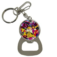 New Year Bottle Opener Key Chains