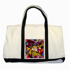 New Year Two Tone Tote Bag
