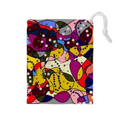 New Year Drawstring Pouches (Large)