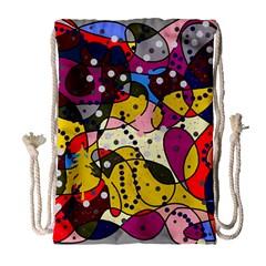New Year Drawstring Bag (Large)