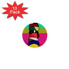 Zen 1  Mini Buttons (10 pack)