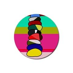 Zen Rubber Coaster (Round)