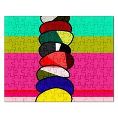 Zen Rectangular Jigsaw Puzzl
