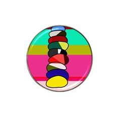 Zen Hat Clip Ball Marker (4 pack)