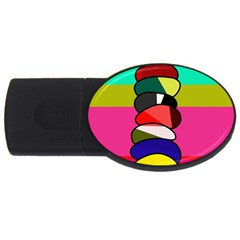 Zen USB Flash Drive Oval (4 GB)