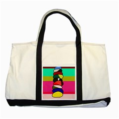 Zen Two Tone Tote Bag