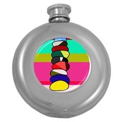 Zen Round Hip Flask (5 oz)
