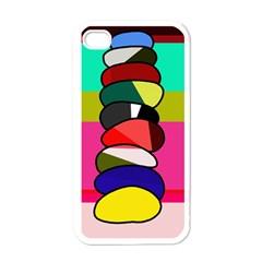 Zen Apple iPhone 4 Case (White)