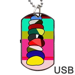 Zen Dog Tag USB Flash (Two Sides)