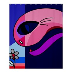 Strange love Shower Curtain 60  x 72  (Medium)