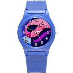 Strange love Round Plastic Sport Watch (S)