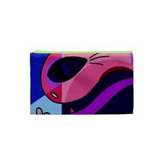 Strange love Cosmetic Bag (XS)