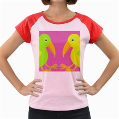 Parrots Women s Cap Sleeve T-Shirt