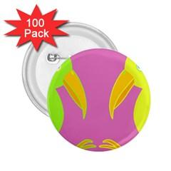 Parrots 2.25  Buttons (100 pack)