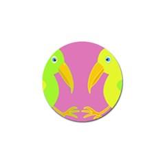 Parrots Golf Ball Marker (10 pack)