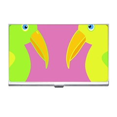 Parrots Business Card Holders