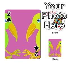 Parrots Playing Cards 54 Designs
