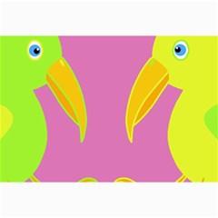 Parrots Collage Prints