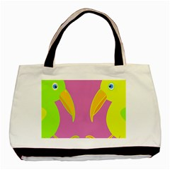 Parrots Basic Tote Bag (Two Sides)