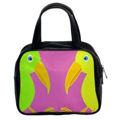 Parrots Classic Handbags (2 Sides)
