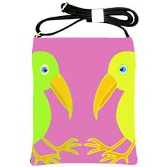 Parrots Shoulder Sling Bags