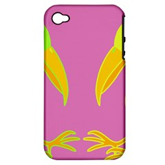 Parrots Apple iPhone 4/4S Hardshell Case (PC+Silicone)