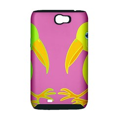 Parrots Samsung Galaxy Note 2 Hardshell Case (PC+Silicone)