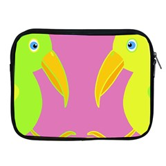 Parrots Apple iPad 2/3/4 Zipper Cases
