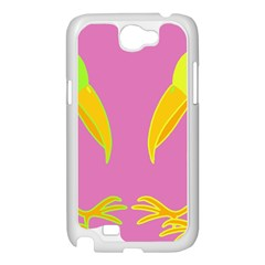 Parrots Samsung Galaxy Note 2 Case (White)
