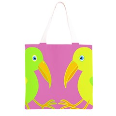 Parrots Grocery Light Tote Bag