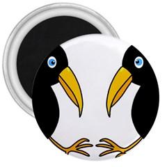 Ravens 3  Magnets