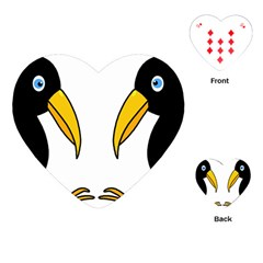 Ravens Playing Cards (Heart)