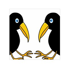 Ravens Small Satin Scarf (Square)