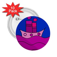 Boat 2.25  Buttons (10 pack)