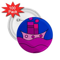 Boat 2.25  Buttons (100 pack)