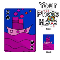 Boat Playing Cards 54 Designs
