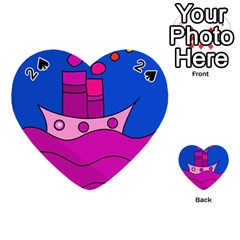 Boat Playing Cards 54 (Heart)